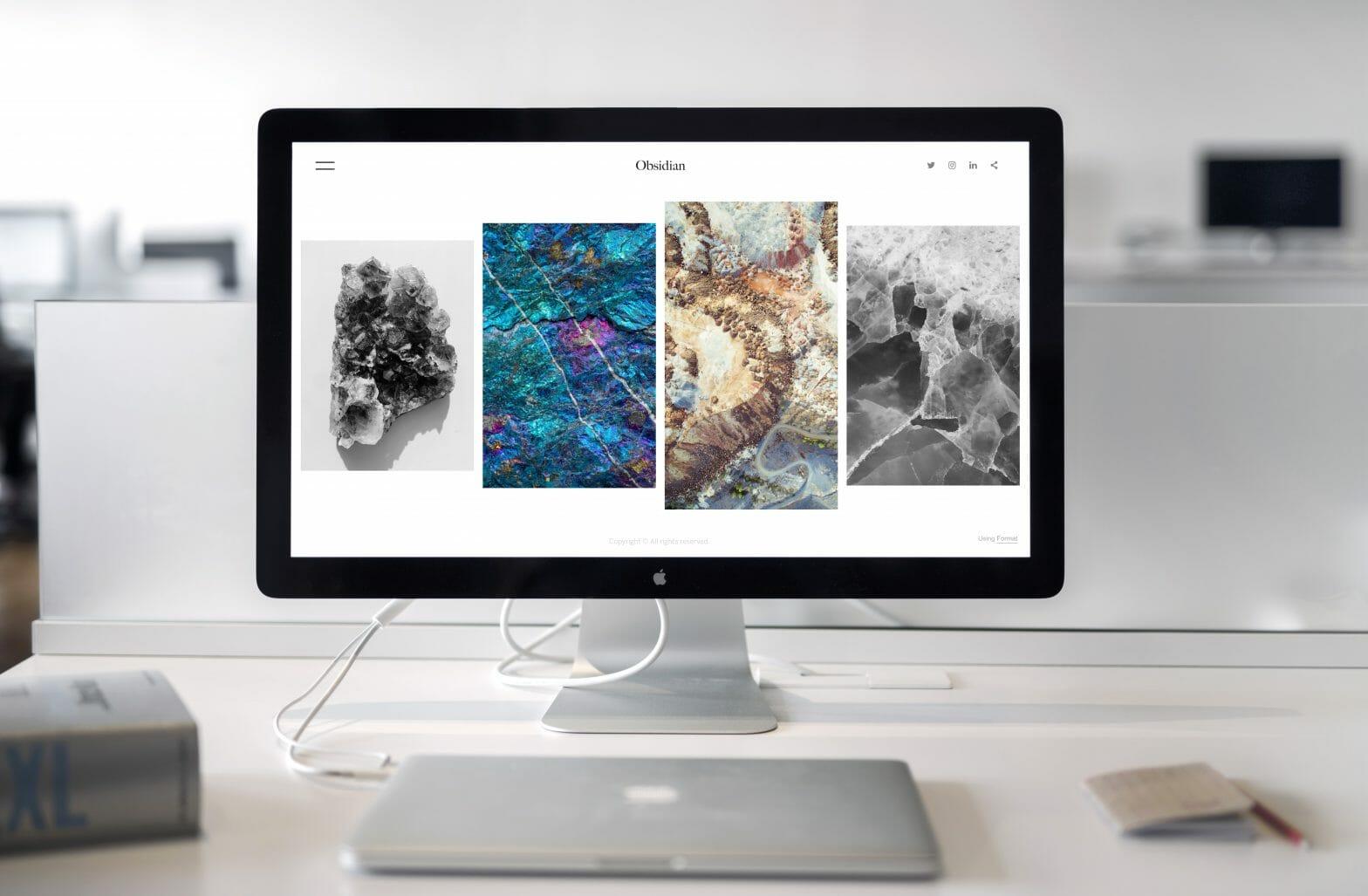 iMac Screen Website