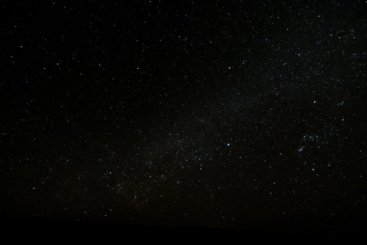 Night sky constellation